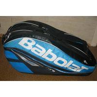 Чехол для теннисных ракеток BABOLAT X 6 PURE DRIVE. Качество и функциональность: топ-линия теннисных сумок. Усиленная конструкция. 2 изолированных отделения для ракеток, чтобы сохранить натяжение стру