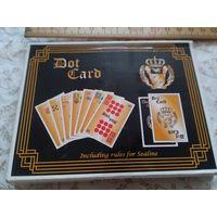 Настольная карточная игра. Полный набор карт, блокнот, инструкция.. Из Швеции. Распродажа коллекции.