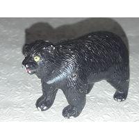 Медведь чёрный(из ПВХ пластизоля,1994г.)-No3