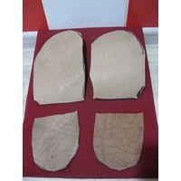 Заготовки для подошвы и  каблуков военной обуви(сапог)