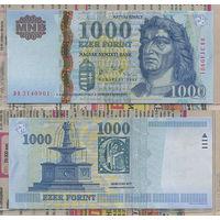 """Распродажа коллекции. Венгрия. 1 000 форинтов 2006 года (P-195b - 2005-2008 """"Holographical Foil"""" Issue)"""