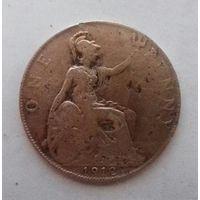 1 пенни, Великобритания 1912 г., Георг V