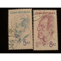 Чехия 2000 поэт и композитор полная серия
