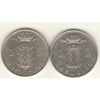 Пара: 1 франк 1970 г. Q: KM#142 и E: KM#143