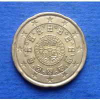 Португалия 20 евроцентов 2002