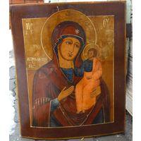 Икона Божией Матери Иверская...19 ВЕК... Королевский Размер!