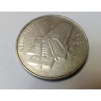 Доминиканская республика 1/2 песо 1989