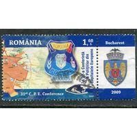 Румыния. Эмблема государственной полиции, герб