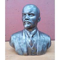 В. И. Ленин. Бюст. Литьё силумин. СССР. Скульптор А. Мурзин, 1984г.