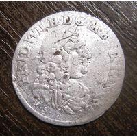 Шесть грошей 1683 г. Пруссия