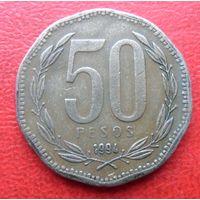 50 песо Чили 1994 года - из коллекции