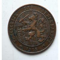 Нидерланды 2.5 цента, 1905 1-9-30