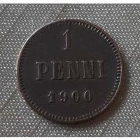 1 pennia 1900 года.