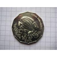 КОКОСОВЫЕ ОСТРОВА (КИЛИНГ) 50 ЦЕНТОВ 2004 ГОД
