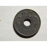 Венгрия 20 филлеров 1944г