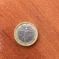 Италия, 1 евро 2008