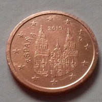 2 евроцента, Испания 2019 г.