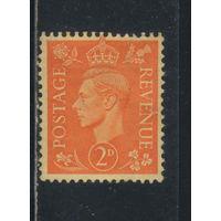 Великобритания 1941 GVI Стандарт #224*