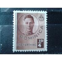 Доминика 1940 колония Англии Король Георг 6*
