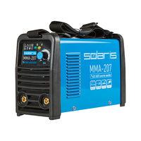 Инвертор сварочный SOLARIS MMA-207 (230В, 20-200 А, электроды диам. 1.6-4.0 мм, вес 3.7 кг)