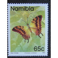 Намибия 1993г. Бабочки.