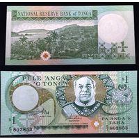 Банкноты мира. Тонга, 1 доллар