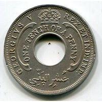 БРИТАНСКАЯ ЗАПАДНАЯ АФРИКА - 1/10 ПЕННИ 1927