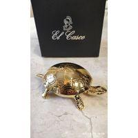 Черепаха-звонок (позолота 23-крата) от El Casco.
