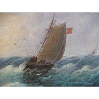Морской пейзаж Коллианоc 19 век
