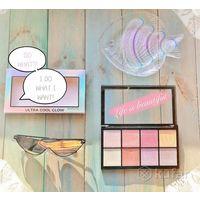 Палетка хайлайтеров ultra cool glow makeup revolutionк