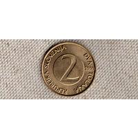 Словения 2 толара 2000/ласточка(Oct)
