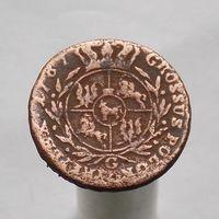 3 гроша 1787 САП 1764-1795