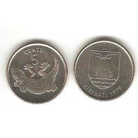 Кирибати. 5 цент. Геккон