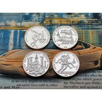 Юбилейные монеты СССР, 150 рублей 1978, 1979, 1980, Олимпиада-80. 4 шт.