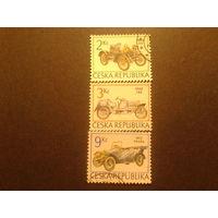 Чехия 1994 автомобили полная серия