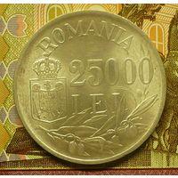 Румыния 25000 лей 1946 г