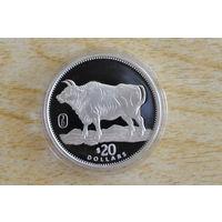 Либерия 20 долларов 1997