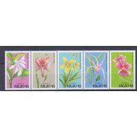 [1343] Палау 1990. Флора.Цветы.Орхидеи.