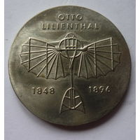 ГДР. 5 марок 1973г. OTTO LILIENTHAL