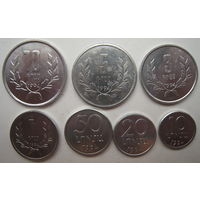 Армения 10-20-50 лум, 1-3-5-10 драм 1994 г. Цена за комплект (g)