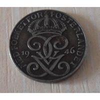 1 эре Швеция 1946 г.в. KM# 810, ORE, из коллекции