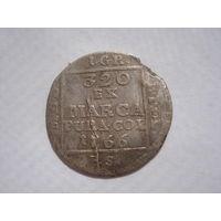 Один грош 1766 Понятовский серебро