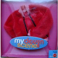 Одежда для кукол My Scene, Barbie/Барби - Курточка меховая.