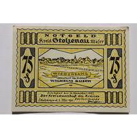 Германия (Notgeld), 75 пфеннигов 1921 год. (#19)