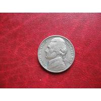 5 центов 1963 года США D