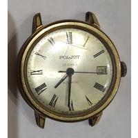 Часы ПОЛЕТ 23 камня с автоподзаводом Au. Интересный номер на крышке 191818. На реставрацию