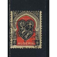 Fr Франция Колонии Алжир 1947 Герб г. Алжир
