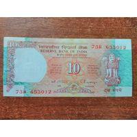 Индия 10 рупий 1992 UNC
