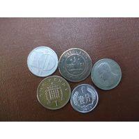 Пять монет/020 с рубля!