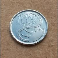 Канада, 10 центов 2001 г., год волонтеров